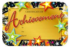 sports awards certificates